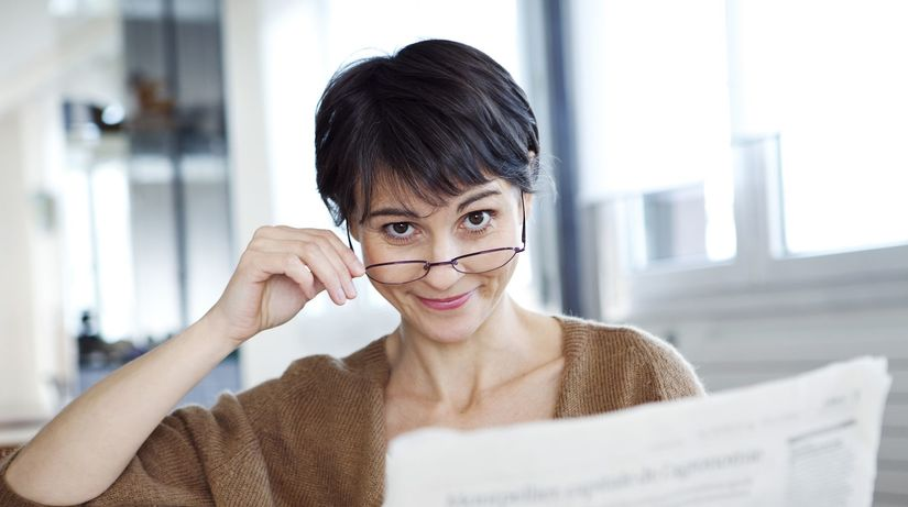 oči, okuliare, čítanie