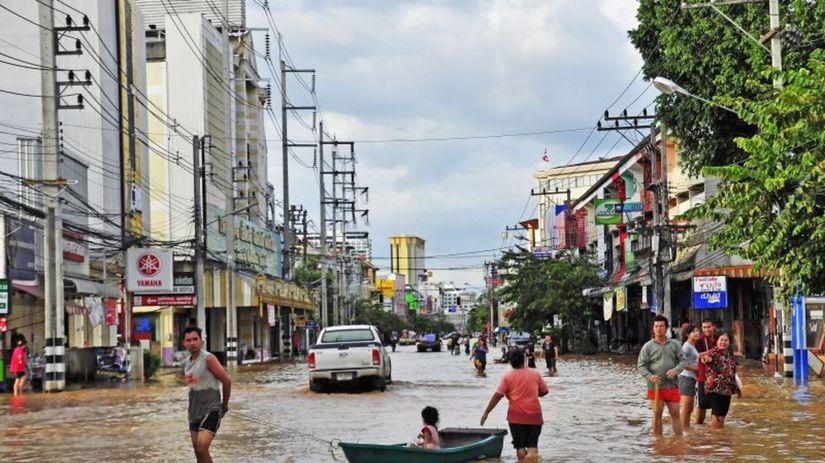 záplavy, klimatické zmeny