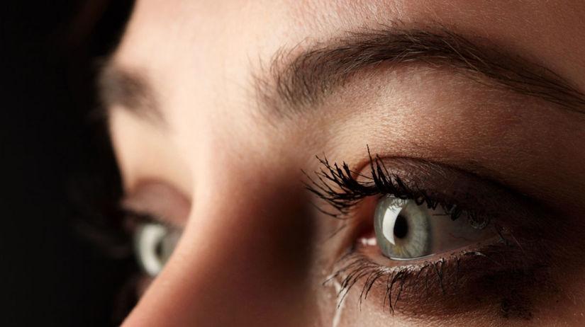 oko, plačúce oko, upchatý očný kanálik