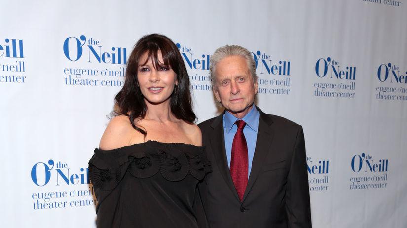Catherine Zeta-Jones a jej manžel - herec...