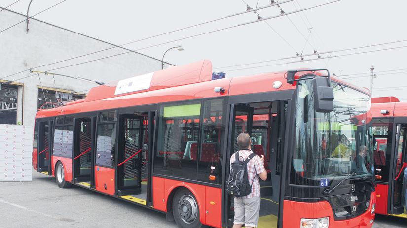 trolejbus, verejná doprava, MHD