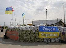 Odesa, Ukrajina, barikády