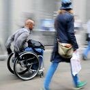invalid, invalidný, postihnutý, vozíček, vozíčkar