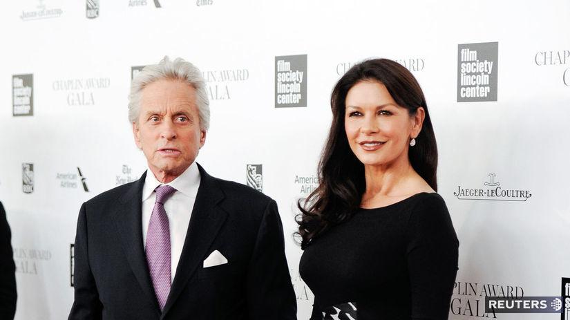 Michael Douglas a Catherine Zeta-Jones