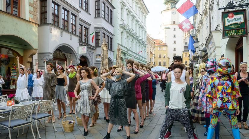 Akcia s názvom Fashion Marš! na prvého mája...