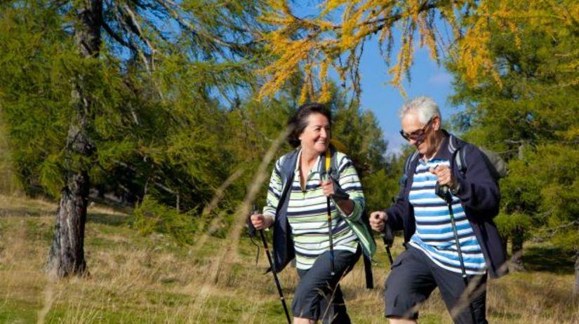 Dôchodcovia, turistika