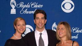 David Schwimmer, Lisa Kudrow a Jennifer Aniston