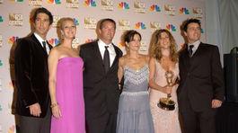 David Schwimmer, Lisa Kudrow, Matthew Perry, Courteney Cox, Jennifer Aniston a Matt LeBlanc