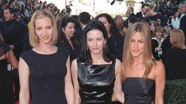 Lisa Kudrow, Courteney Cox a Jennifer Aniston