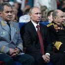 Rusko, Vladimir Putin, Sergej Šujgu, Deň víťazstva nad fašizmom