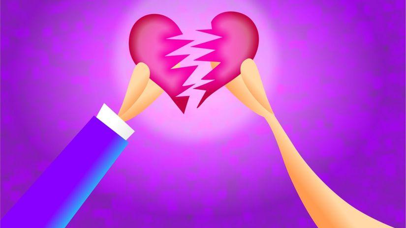 koniec lásky, rozchod