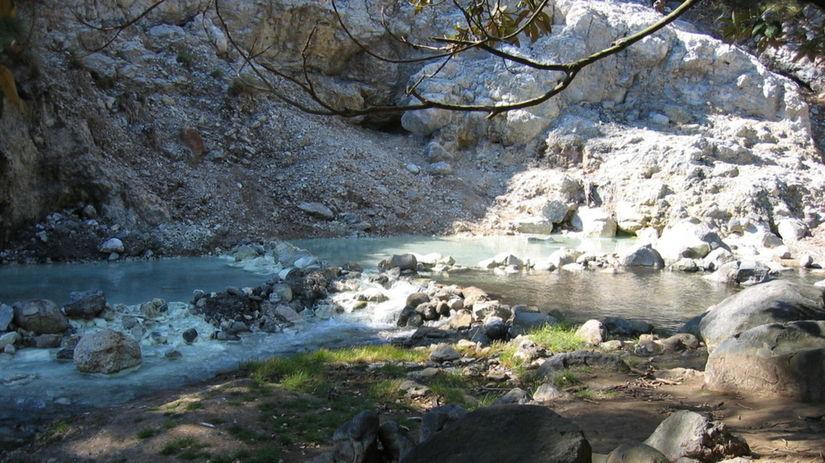 prameň, termálna voda