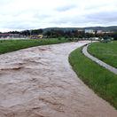 Rieka Uh na východe Slovenska nebezpečne stúpa, úrady situáciu monitorujú