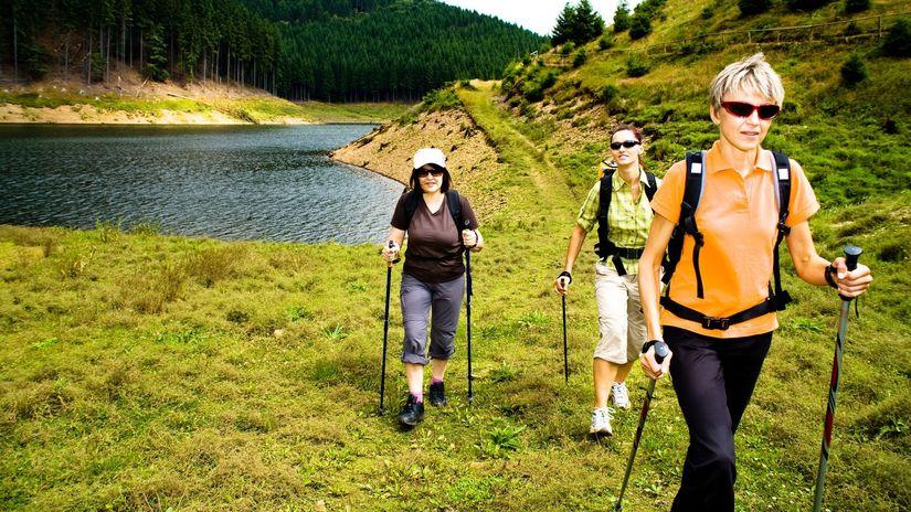 turistika, chôdza, nordic walking