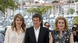 Adele Haenel, Guillaume Canet a Catherine Deneuve