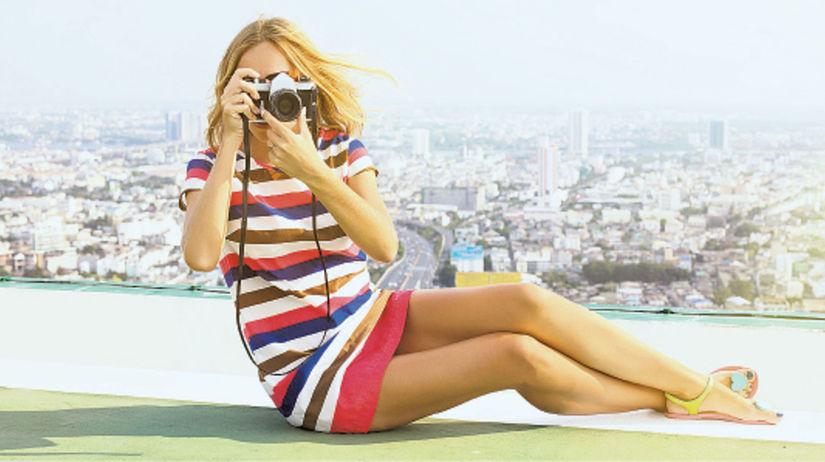 fotografka, fotoaparát, dovolenka, cestovanie,...