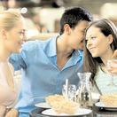 večera, jedenie, stolovanie, jedlo, taniere, gastronómia, vzťahy, trojuholník, nevera, podvádzanie