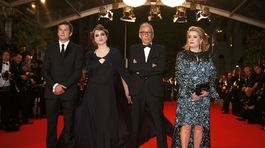 Guillaume Canet, Adele Haenel, režisér Andre Techine a herečka Catherine Deneuve