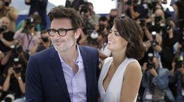 Michel Hazanavicius a jeho manželka - herečka Berenice Bejo