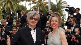 Wim Wenders a jeho manželka Donata