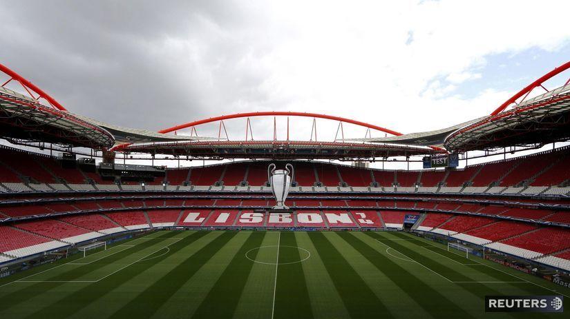 Estádio da Luz, Benfika Lisabon, Portugalsko,...