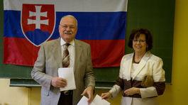 Gašparovič, voľby