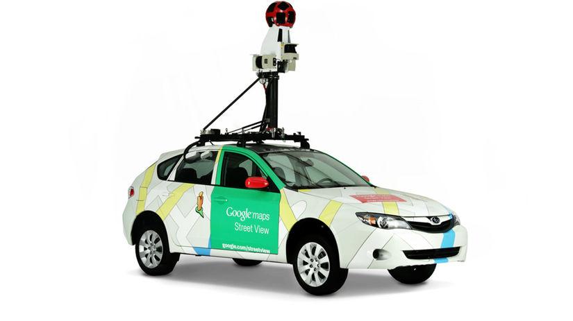 Google, Street View, mapy, trekker