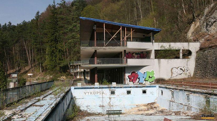 kúpalisko Zelená žaba, Trenčianske Teplice