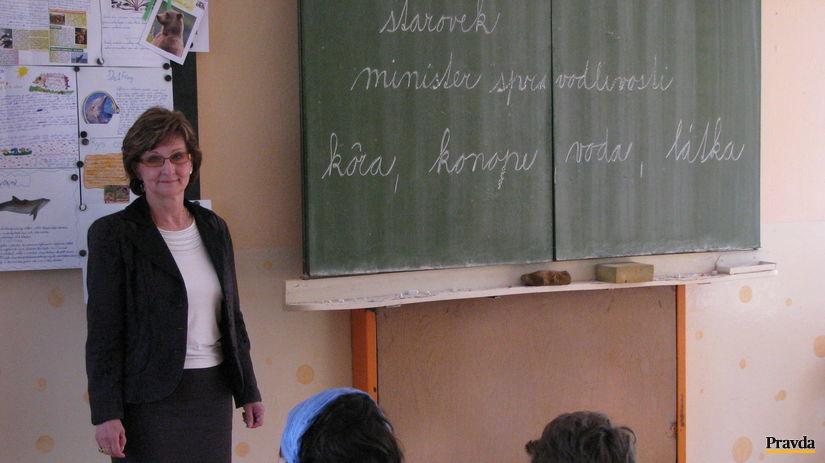 riaditeľka, Margita Karaková