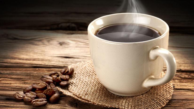 káva, kofeín, stimlulant