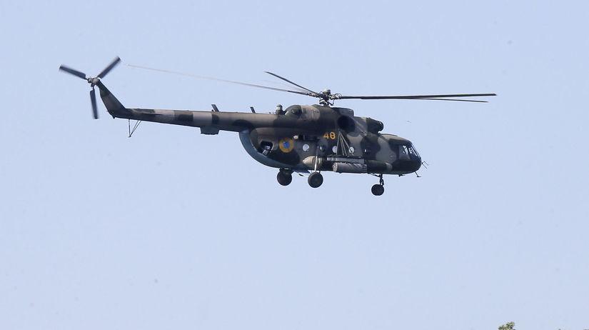 Ukrajina, vrtuľník