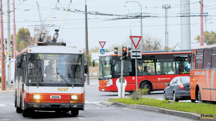 autobus, doprava, MHD