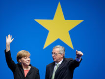 Jean-Claude Juncker, Angela Merkelová