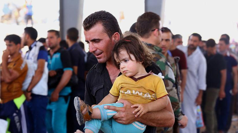 Irak, Mosul, utečenci