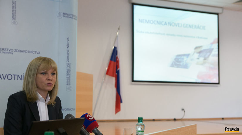 ministerka zdravotníctva Zuzana Zvolenská