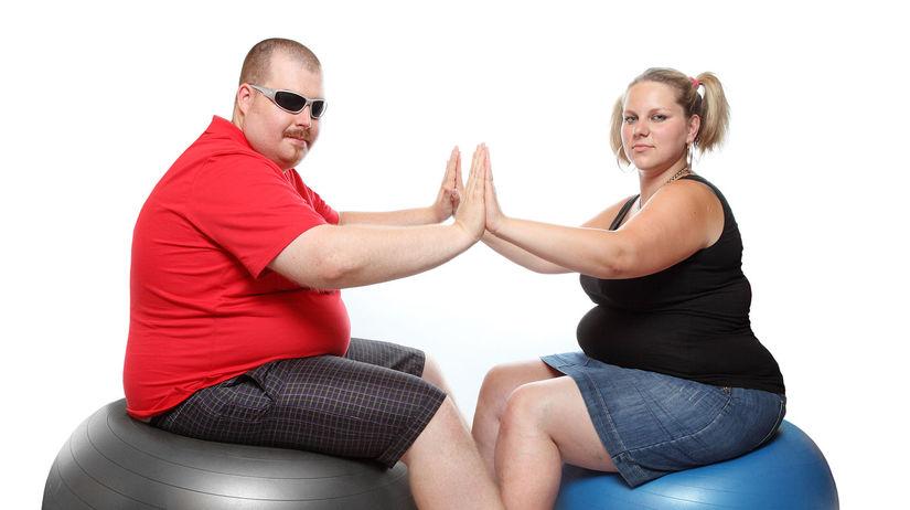 obezita, nadváha, fitlopta, stravovanie, tuční...