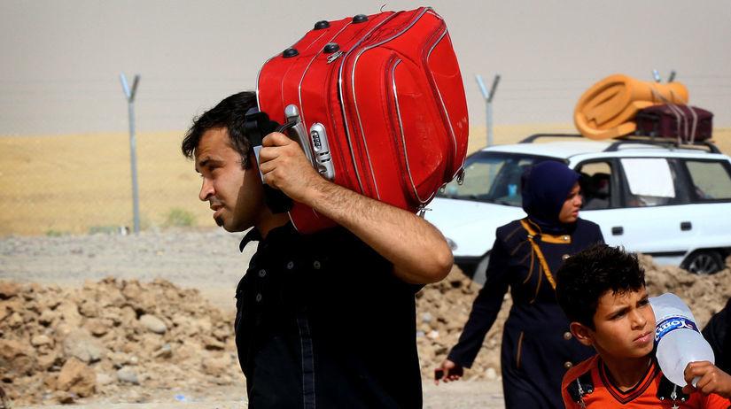 Irak, ženy, šíiti, sunniti, utečenci, boje
