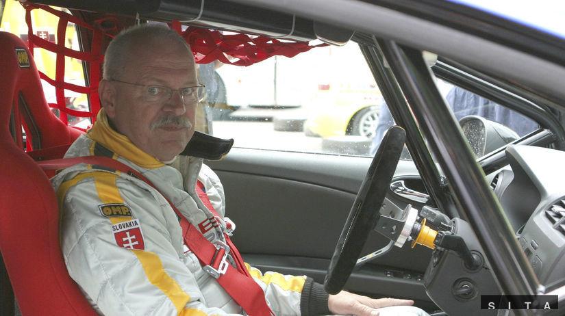 Ivan Gašparovič, prezident, pretekár, auto