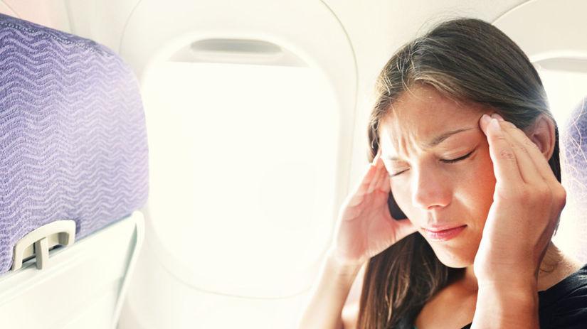 lietadlo, cestovanie, žena