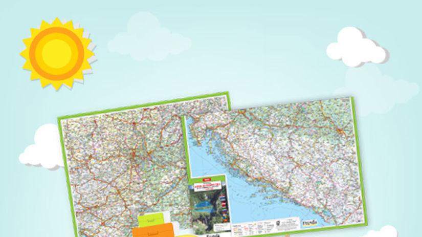 mapa cesta k Jadranu