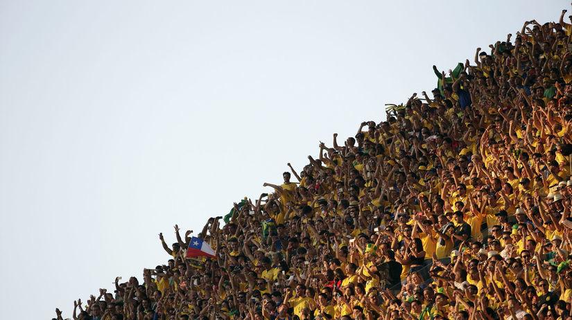 Fanúšikovia Brazílie
