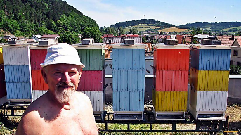 včely, úľ, Miroslav Minjarík