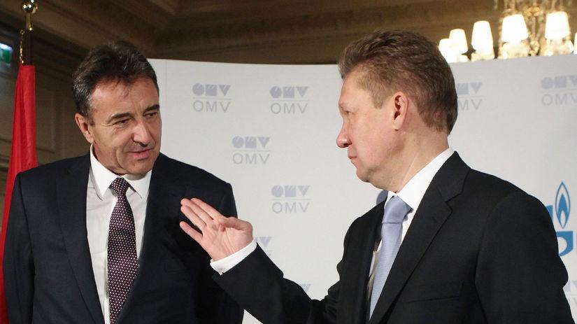 OMV, Gazprom