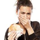 jedlo, prejedanie sa, žena, obezita