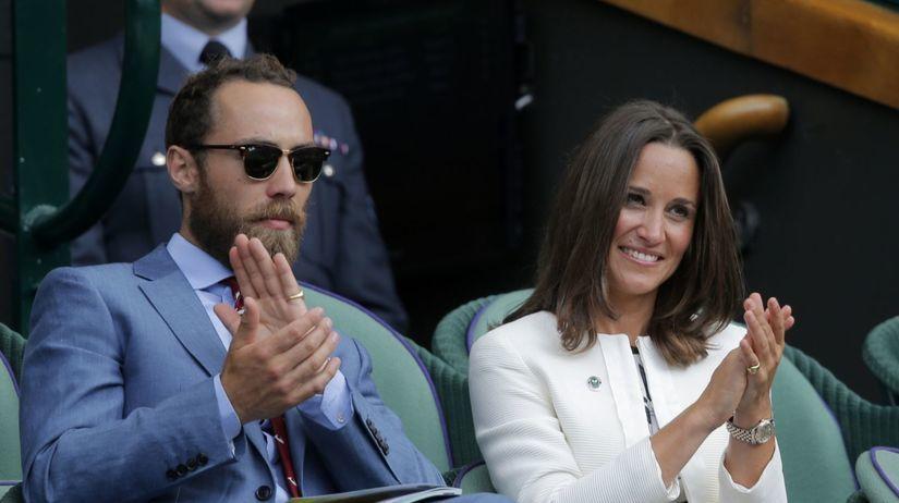 Pippa Middleton a jej brat James
