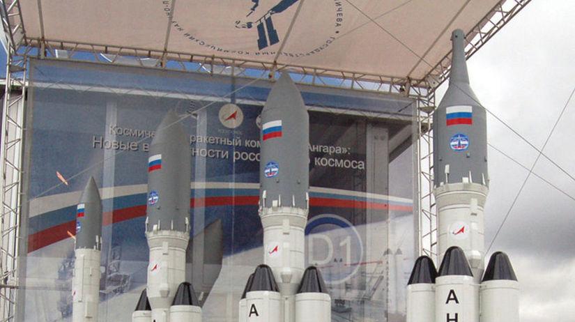 rakety, Angara, Moskva, Rusko