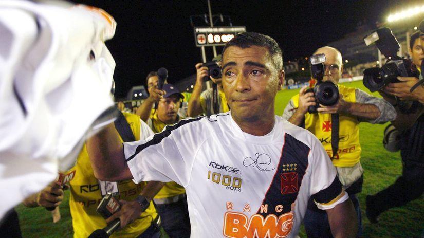 Po tisícom góle zažil Romário karneval na Copacabane - MS Futbal 2014 -  Majstrovstvá sveta vo futbale 2014 v Brazílií - Šport - Pravda.sk