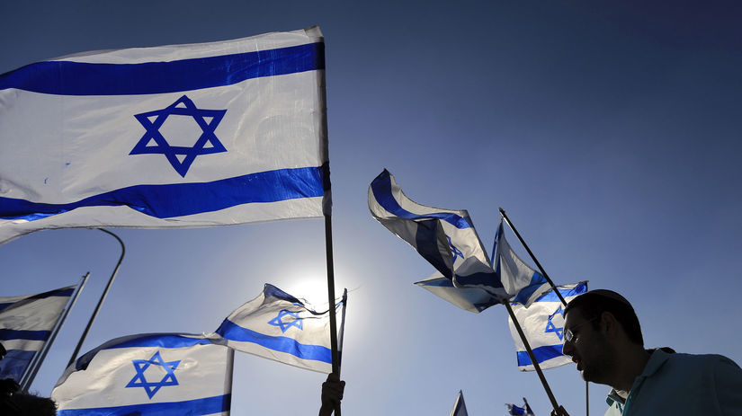 Izrael, vlajka,