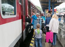 vlak, železnica