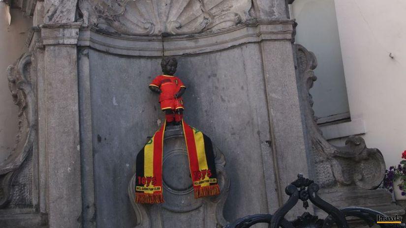 Manneken Pis, Belgicko, Brusel